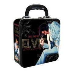 Vandor Square Tin Tote, Elvis Presley Lunch Box
