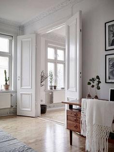 Home Decor Inspiration .Home Decor Inspiration Home Interior, Interior Architecture, Interior Decorating, Interior Doors, Decorating Ideas, Decor Ideas, Modern Interior, Swedish Interior Design, Swedish Interiors
