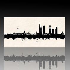Frankfurt Skyline - SW