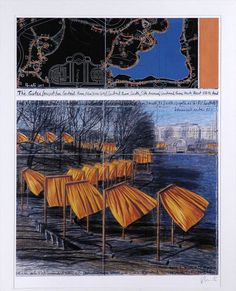 Jean Claude and Christo Central Park Gates 2006
