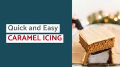 Easy Caramel Icing Recipe - Thrifty Frugal Mom Mandarin Orange Jello Salad, Orange Jello Salads, Chocolate Syrup, Homemade Chocolate, Easy Vegetable Beef Soup, Easy Apple Dumplings, Canning Applesauce, Canning Supplies, Caramel Icing