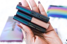 Fenty Beauty Galaxy Collection Review, Fenty Beauty galaxy eyeshadow palette, Fenty Beauty, Makeup, Makeup review, Makeup for dark skin, swatches on dark skin, eyeshadow palette, eyeliner, Fenty Beauty by Rihanna