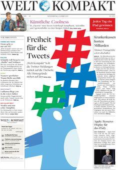 Freiheit für die Tweets http://www.welt.de/wirtschaft/webwelt/article13910279/Loesung-gefunden-Freiheit-fuer-Tweets-des-Tages.html