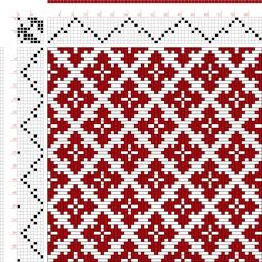 draft image: Page 129, Figure 14, Donat, Franz Large Book of Textile Patterns, 8S, 8T