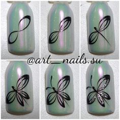 52 ideas for nail art design simple polish Cute Acrylic Nails, Gel Nail Art, Nail Art Diy, Easy Nail Art, Diy Nails, Manicure, Nail Art Designs Videos, Nail Art Videos, Gel Nail Designs