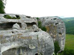 Crimea, Крым, пещерный город, Бахчисарай