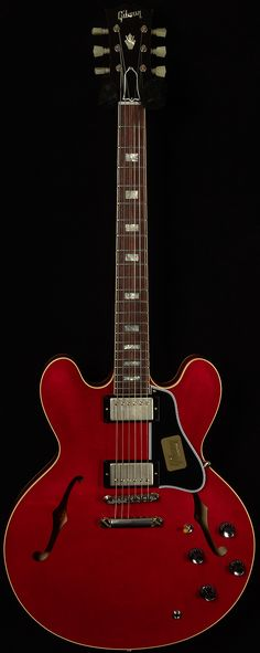 Gibson Custom Nashville1963 ES-335 Block in Faded Cherry