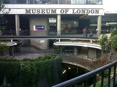 The Museum of London might not be one of the snazziest, fanciest, or kookiest in the city. Doesn't matter - I love it! From its unusual entrance to its epic span (centuries!) of exhibits, it's a great place to get one's bearings when visiting. It's also where Victoria & Charles find their first big clue to discovering the missing pendant. (Not to mention a rack full of replicas.)