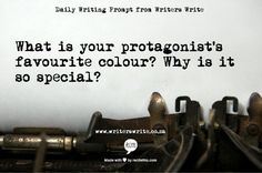 Daily Writing Prompt - Writers Write Creative Blog  (or vice versa for antagonist)