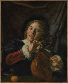 Frans Hals Boy with a Lute - Met - NY