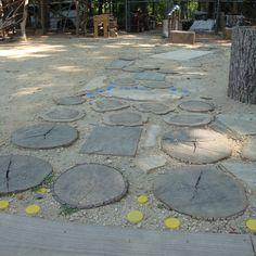 Sensory path. Trogdon's Childcare. Randolph County, NC.