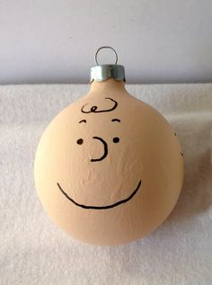 Peanuts Charlie Brown Hand Painted Christmas Ornament. $10.00, via Etsy.