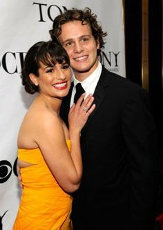 Lea Michele and Jonathan Groff Actors Male, Actors & Actresses, Glee Wedding, Darren Criss Glee, Cutest Couple Ever, Glee Cast, Dianna Agron, Cory Monteith, Sarah Michelle Gellar