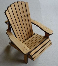 how to: Adirondack chair