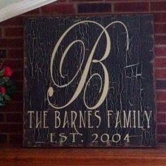 family established signs