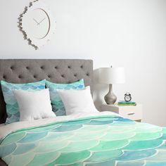 cool Wonder Forest Mermaid Scales Duvet Cover by http://www.danaz-home-decorations.xyz/home-decor-accessories/wonder-forest-mermaid-scales-duvet-cover/