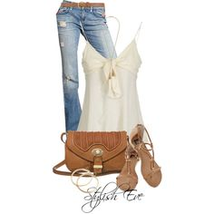 Gorgeous Tank, created by stylisheve on Polyvore