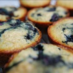 Low-fat High Fiber Blueberry Bran Muffins on BigOven: I found this recipe on another recipe website and I couldn't believe how good these are considering how healthy they are. They came out very moist and full of flavor.