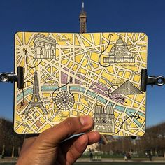 Paris moleskine city