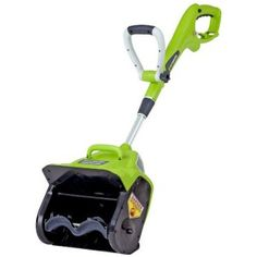 GreenWorks 7 AMP Electric Snow Shovel - seriously just buy one now. Put my gas-powered snow blower to shame and cleared my driveway and half my sidewalk in like 10 minutes.
