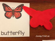 Learning about the butterfly life cycle? Try this preschool activity- Playdough Butterfly Life Cycle