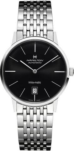 H38455131, , Hamilton intra-matic auto watch, mens