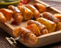 Südafrikanischer Wurstspiess mit Chimichurri Sweet Potato, Potatoes, Vegetables, Afghanistan, Africa, Food, Party, Vegetarische Rezepte, African Recipes