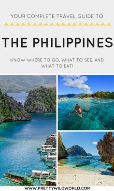 The Philippines Travel Guide. Places to visit in the Philippines. Travel in Asia.