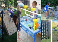 22 Awesome DIY Garden and Yard Projects for Kids Summer Fun - Neue Ideen Diy Crafts For Kids, Projects For Kids, Kids Diy, Summer Fun For Kids, Backyard For Kids, Backyard Play, Diy Garden Projects, Garden Ideas, Kids House