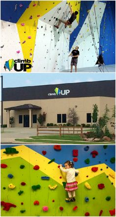 Climb UP gym in Norman offers a fun and safe environment to experience rock climbing. Using the best equipment available, the staff teaches newcomers everything they need to know to get started. They also have a toddler room and yoga sessions available.
