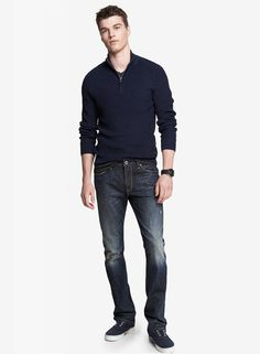 Rocco Straight Leg Jean #EXPRESSJEANS