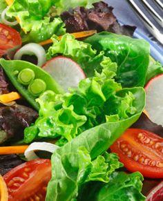 Healthy Diet Plans Include Big Salads