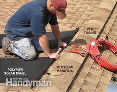 DIY Solar Water Heating - Article: The Family Handyman