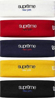 Supreme Classic Box Logo Fleece Headband 2015 FW Navy Head Band PCL Black CDG - http://sports.goshoppins.com/exercise-fitness-equipment/supreme-classic-box-logo-fleece-headband-2015-fw-navy-head-band-pcl-black-cdg/