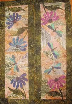 Dragonfly Dream Table Runner #109 | Craftsy