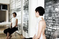 "Fashion design & styling: Milan Senić  Photo: Enisa Bravo  Model: Dunja Pašić  Location: Studio ""Firma"" http://www.firma-arh.com/home"