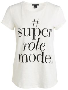 Our favorite style statements are the ones that give back. Win, win. So we're loving this just-debuted #SuperRoleModels tee from Lindex. Three supermodels (get it?) have teamed up with the brand–Toni Garrn, Christy Turlington Burns and Liya Kebede—and each chose a charity to support, with all profits from the tees (seen in Toni's Instagram above) benefitting their organizations.