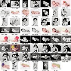 Newborn Photo Posing