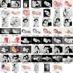 newborn poses. Apparently you can take a class for $75 to help you know what to do. WHO knew?!