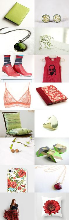 Flower field by Dikla Einat on Etsy--Pinned with TreasuryPin.com