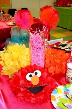 Rainbow Elmo Birthday
