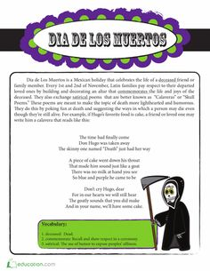 Put a silly spin on a sad holiday by tickling your funny bone with some calaveras literarias.