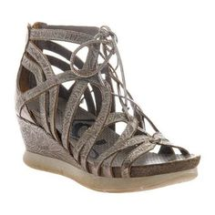 4b008d2232b Shop for Women s L Artiste by Spring Step Pomi Strappy Sandal Grey Multi  Leather. Get free shipping at Overstock.com - Your Online Shoes …