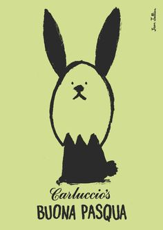 Irving & Co. for Carluccio's Easter with illustration by Jean Jullien