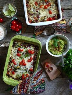 Tacograteng Tex Mex, Bruschetta, Palak Paneer, Quinoa, Nom Nom, Food And Drink, Mexican, Vegetarian, Snacks