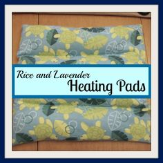How to make a rice heating pad. This will be  good for easing labor discomforts. Can heat in the microwave, oven, or crockpot