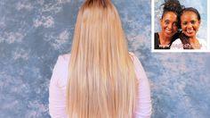 Alex: Extensions mit verschiedenen Blondtönen - Weaving mit Thermofiberh...