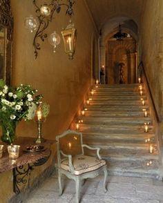 Candles light the way - Vicki Archer //   https://www.instagram.com/vickiarcher/