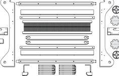 ashford website assembly guide rigid heddle loom.