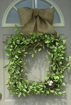 Spring Beauty ....  Square wreath, Boxwood wreath, Front Door Wreaths, Spring Wreaths, Door Wreaths, wreaths, Brand New Day Designs, ferns